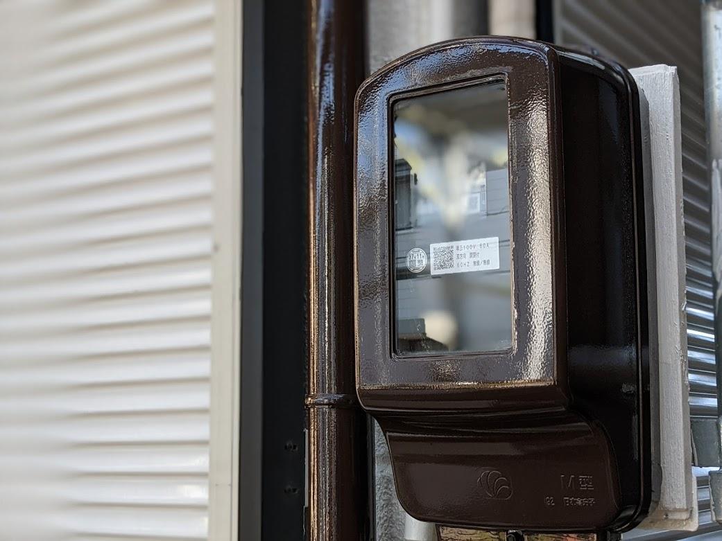 電気ボックス塗装
