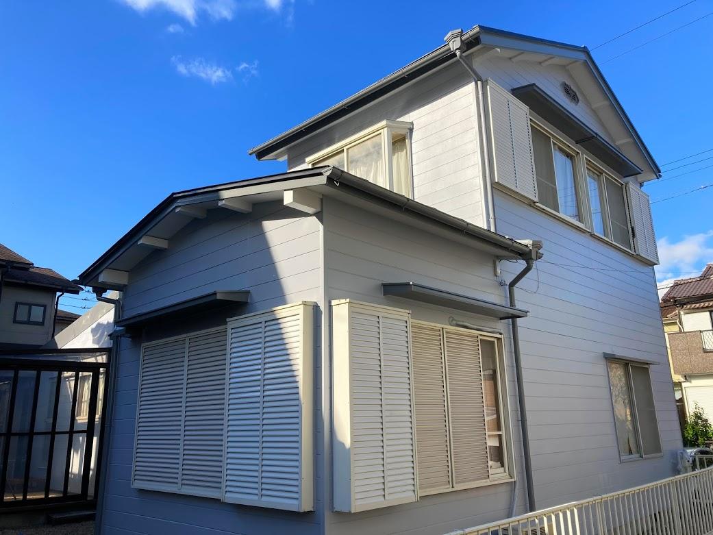 アステックペイント使用、愛知県みよし市の外壁塗装