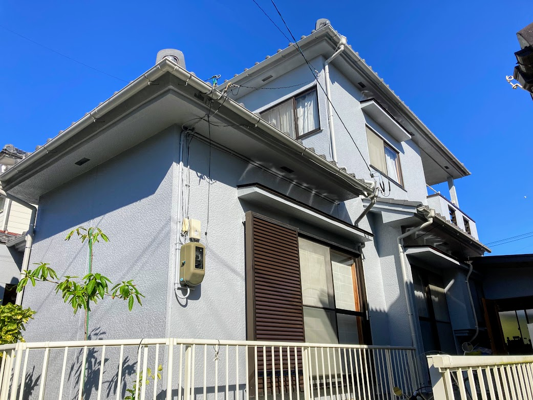 豊田市今町、外壁塗装