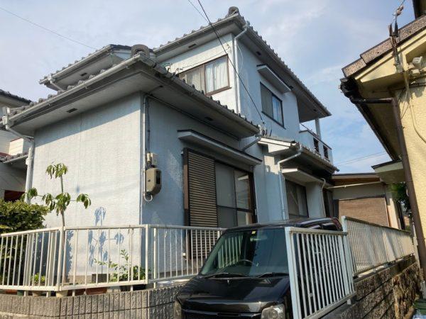 豊田市今町、外壁塗装前