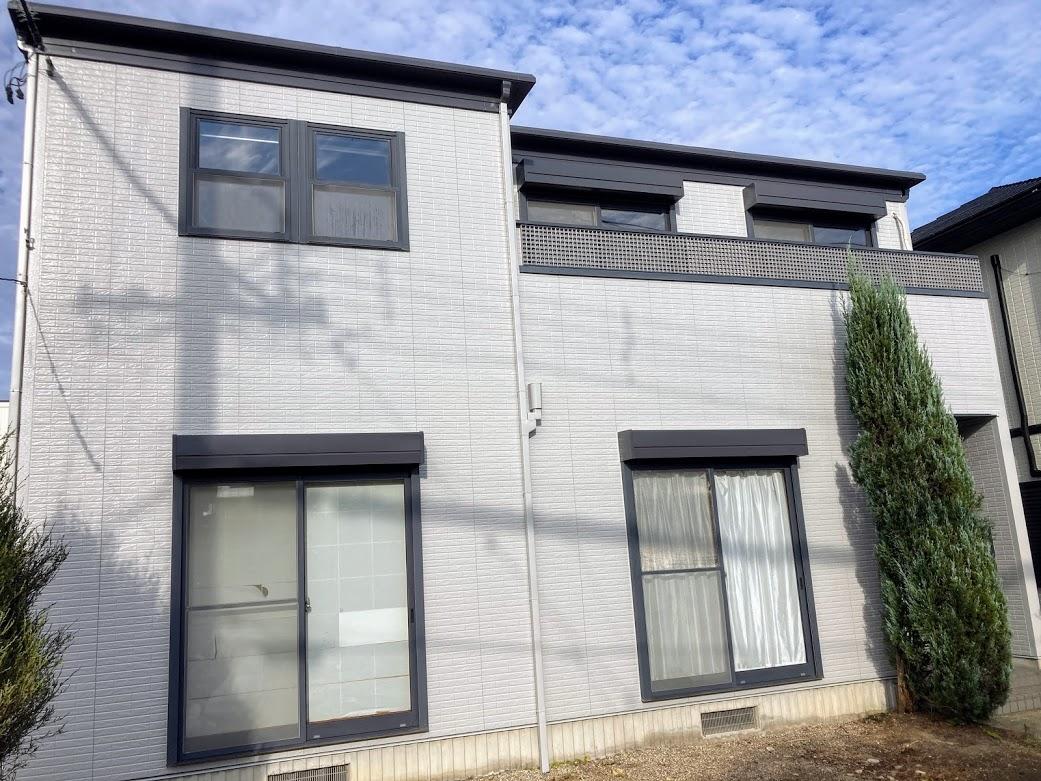 豊田市西中山、トヨタホーム外壁塗装工事