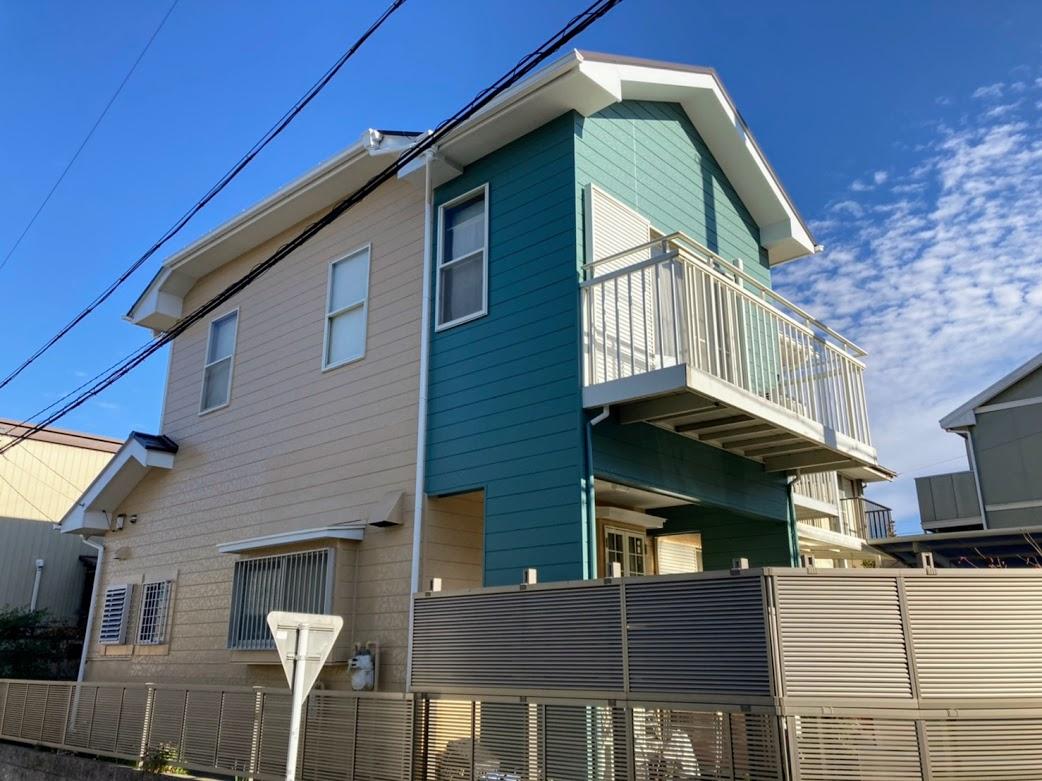 愛知県東郷町、外壁塗装施工事例