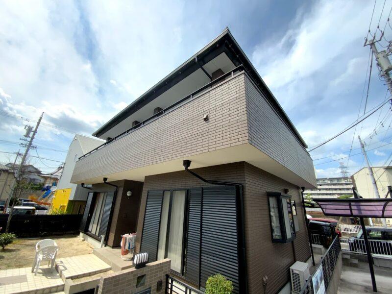 愛知県豊田市、外壁塗装