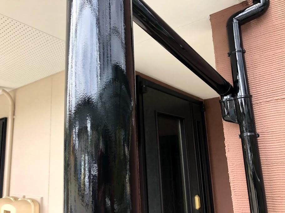 柱、樋塗装