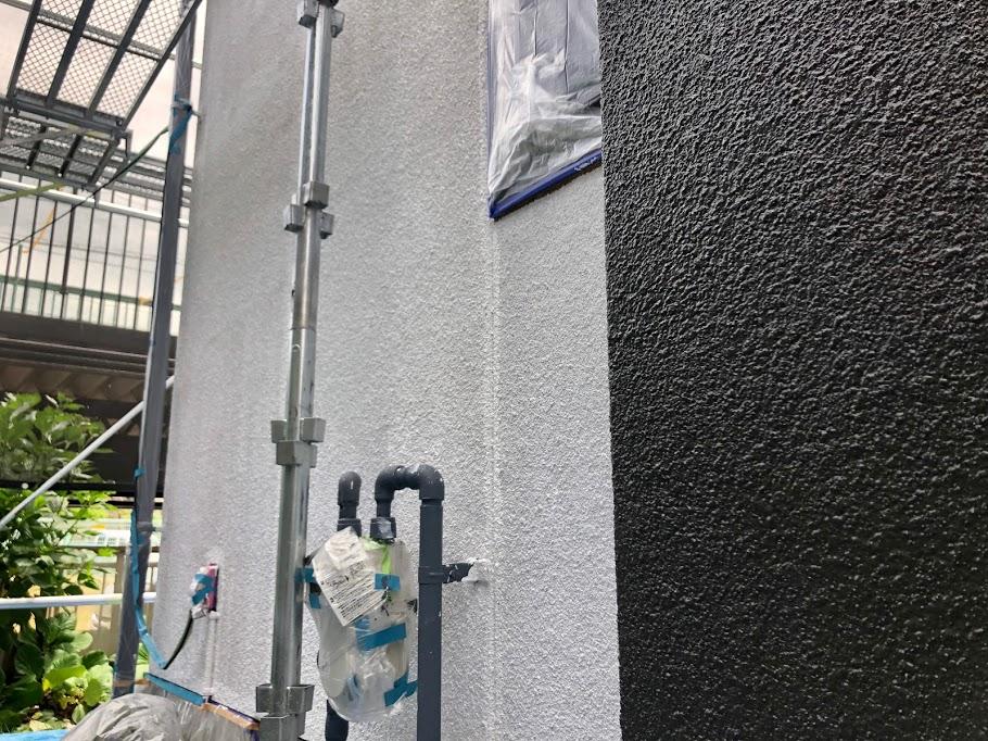 豊田市 外壁下塗り