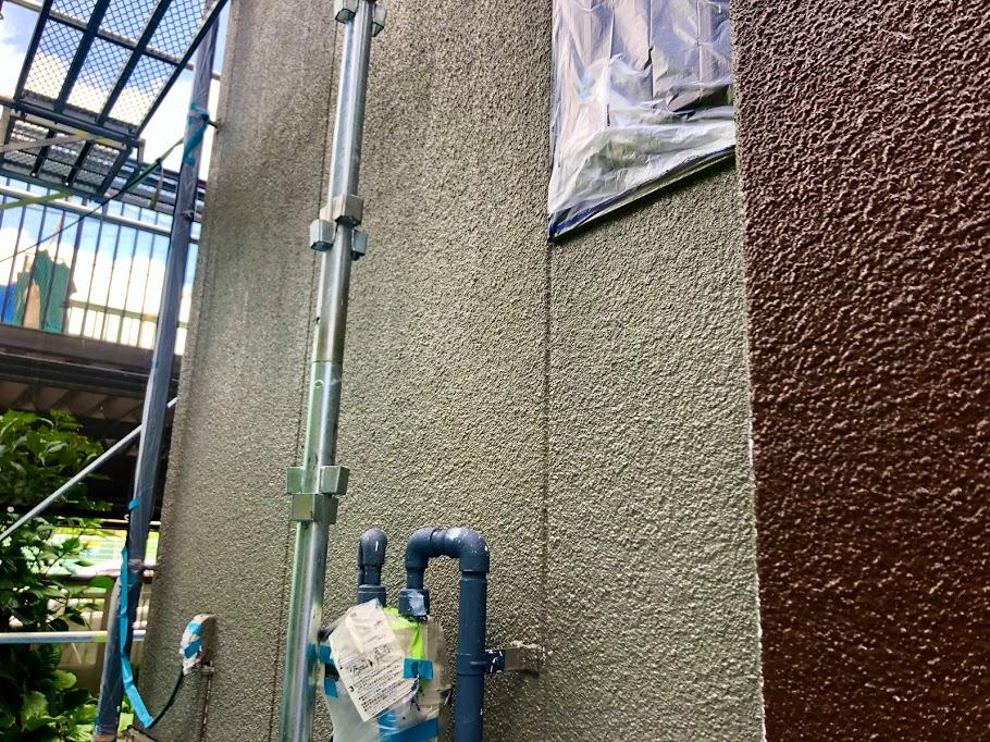 豊田市 外壁中塗り