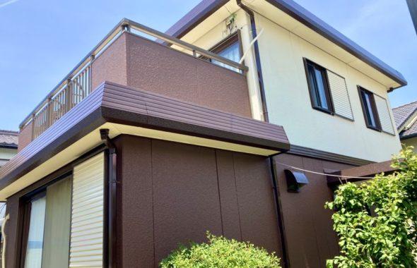豊田市 外壁塗装完了