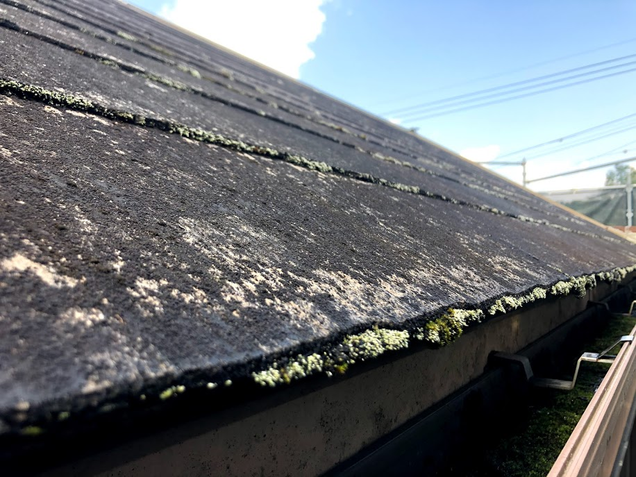 豊田市 屋根塗装前
