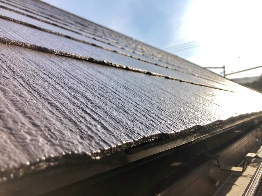 豊田市屋根塗装後