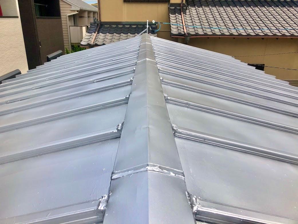 長久手市の屋根塗装