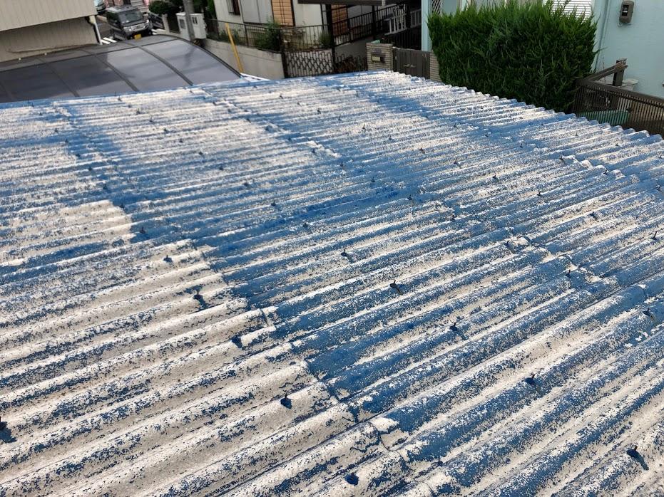 豊田市 屋根塗装高圧洗浄