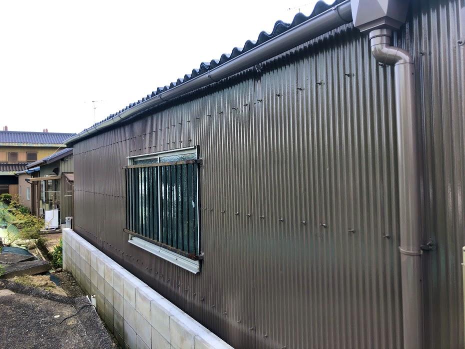 豊田市トタン外壁塗装