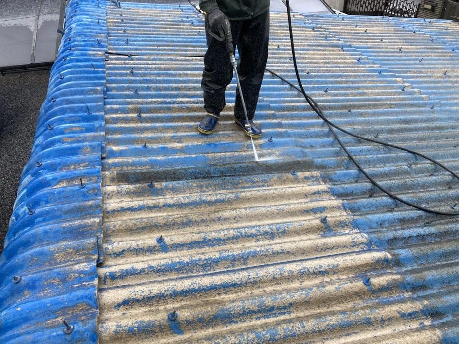 豊田市 屋根高圧洗浄