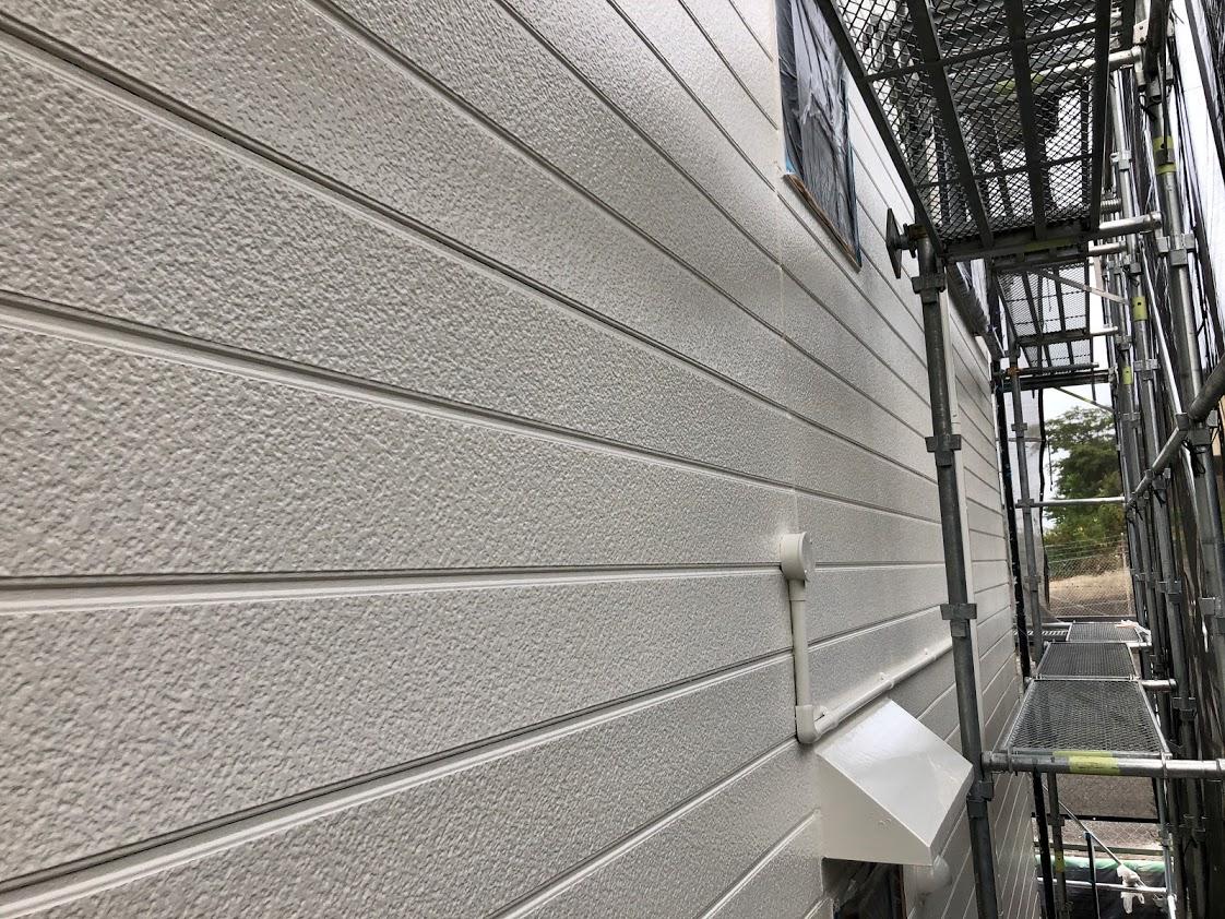 豊田市外壁塗装上塗り1回目