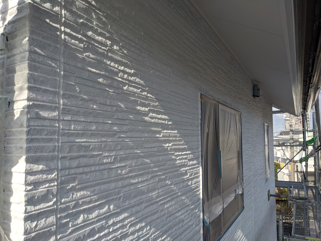 愛知県日進市 外壁下塗り