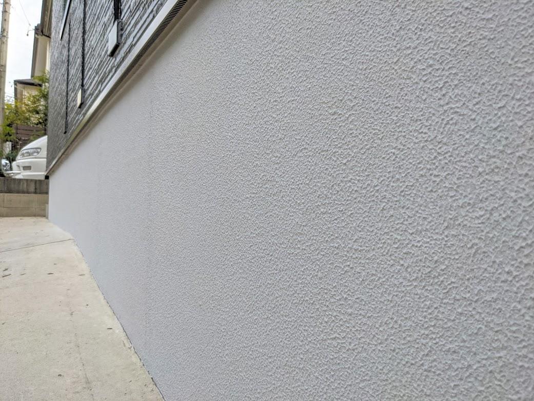 愛知県日進市 基礎巾木塗装