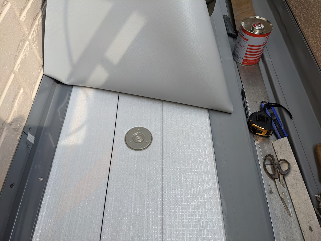 シート防水改修