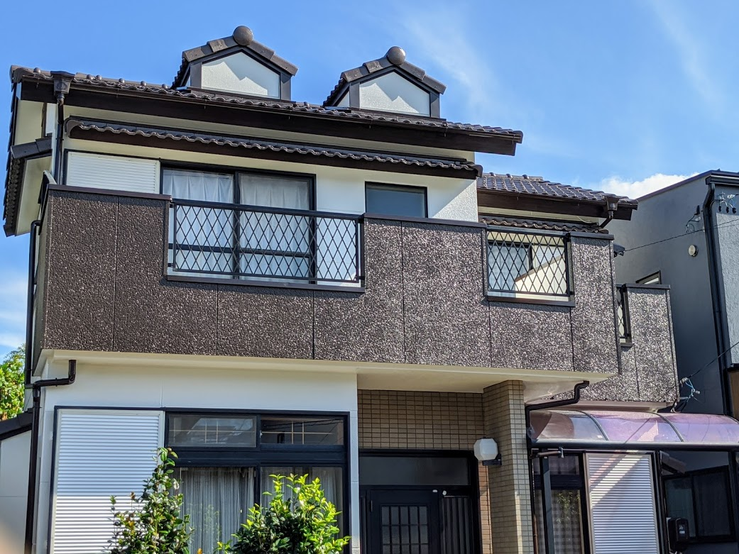 愛知県みよし市東山台外壁塗装