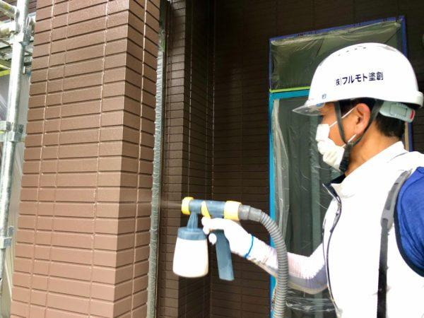 豊田市外壁塗装クリア仕上げ
