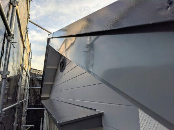 破風板金塗装