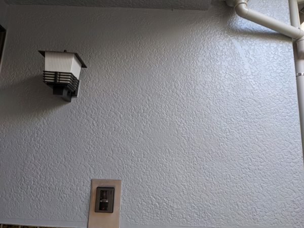 玄関部塗装