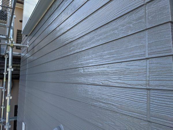 グレー外壁塗装