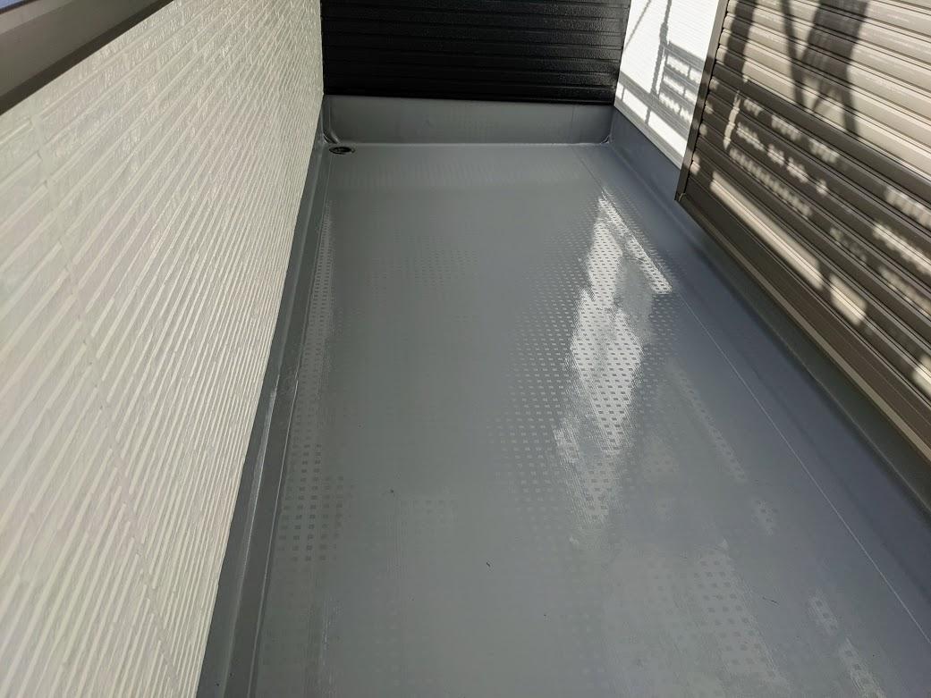 豊田市防水工事完了