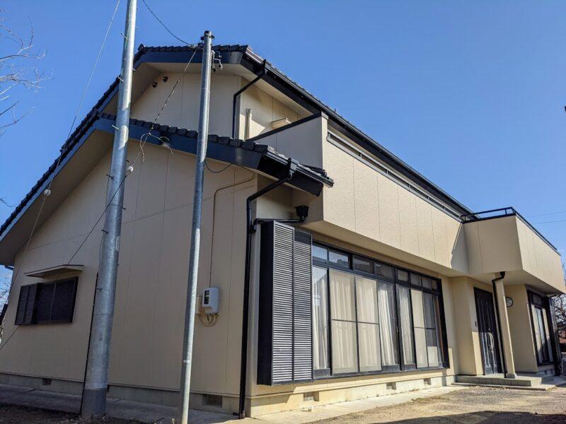 愛知県豊田市外壁塗装施工物件