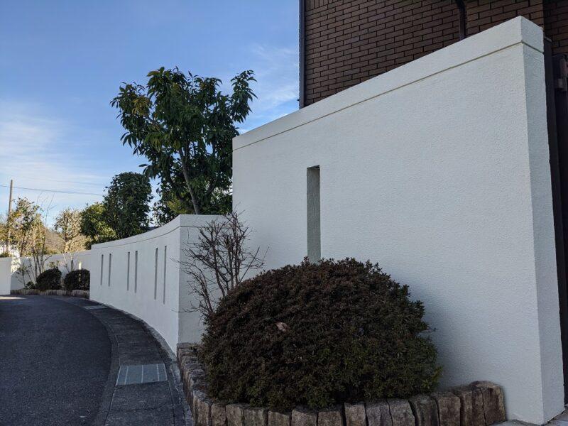 愛知県日進市塀塗装