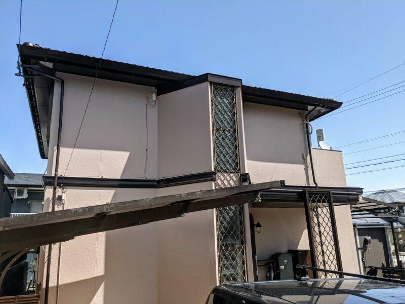 愛知県豊田市、外壁塗装完了