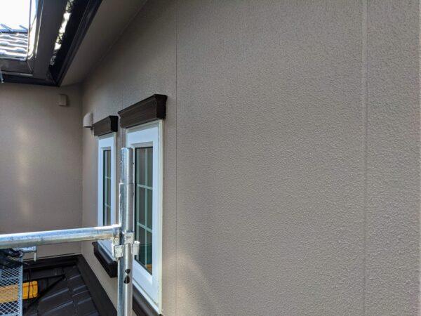 外壁塗装仕上げ